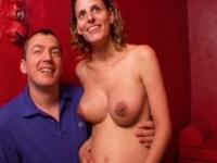Son dernier gang-bang pour Laetitia, une belle femme enceinte