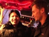 Justine se fait double pénétrer après un tour sur le marché de Noël! (vidéo exclusive)