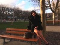 Sarah, feujette de 25 ans gérante d'une boutique de lingerie à Asnière-sur-Seine ! (vidéo exclusive)