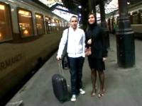 On offre Clara , une Normande accompagnée de son mec, à la bite d'un fan de J&M (vidéo exclusive)