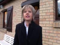 Christine, une agent immobilière, nous reçoit chez elle à Calais !