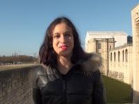 Samira, 22 ans, beurette d'origine tunisienne, chopée au château de Vincennes ! (vidéo exclusive)