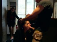 Dans le cul de la nouvelle jeune employée du Club Le Provence à Paris ! (vidéo exclusive)