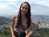 De retour à Rio avec Brenda, vendeuse au Corcovado !  (vidéo exclusive)