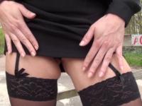 Audrey fait la pute au Bois de Boulogne ! (vidéo exclusive)