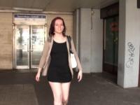Aude, 19 ans, un bac L en poche et 2 bites dans la chatte ! (vidéo exclusive)