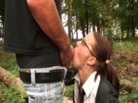 on a fait un tour en foret avec Ninon (vidéo exclusive)