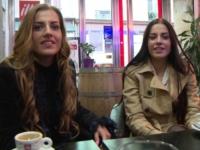 Une vraie rencontre atypique avec des soeurs jumelles ! (vidéo exclusive)