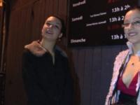 Candice emmene Camille 19 ans découvrir les plaisirs d'un club libertin ! (vidéo exclusive)