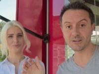 On défonce la magnifique Mandy, exposante dans un salon Porte de Versailles !  (vidéo exclusive)