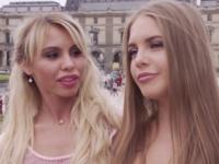 On baise une danseuse étoile de passage a Paris !  (vidéo exclusive)