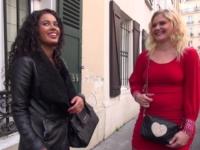 Retour de Sophie, accompagnée de la belle Samira !  (vidéo exclusive)