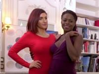 Diara et Amina dans un trio luxurieux !  (vidéo exclusive)