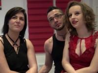 Un couple de Parisiens nous invite, on débarque avec une copine !  (vidéo exclusive)