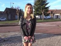 Première sodo pour Juliette, 18ans!  (vidéo exclusive)