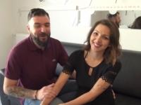 Caro, 22ans, réalise son grand fantasme !  (vidéo exclusive)