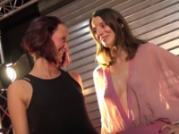 Morgane et Pauline, deux coquines qui se partagent la bite de Lorenzo !  (vidéo exclusive)