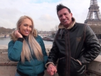 Sextape d'un vrai couple en voyage de noce à Paris