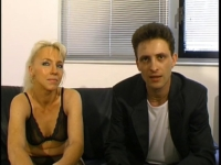 Brigitte, une blonde mature qui nous arrive pour un casting hard!