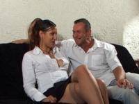 Fanny vient de Montélimar pour goûter au sexe devant une caméra.